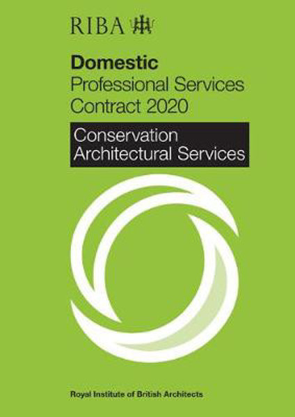 Picture of RIBA Domestic Professional Services Contract 2020 : Conservation Architectural Services