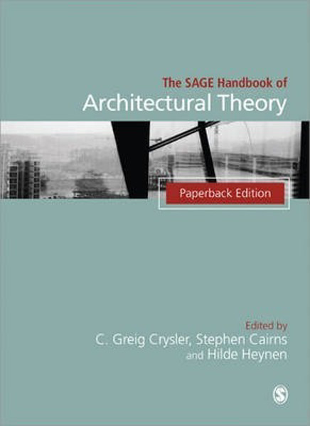 Picture of The SAGE Handbook of Architectural Theory