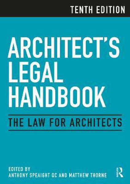 Picture of Architect's Legal Handbook: The Law for Architects