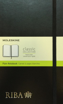 Picture of RIBA Moleskine Plain Notebook (Large)