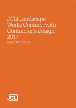 Picture of JCLI 2017 Landscape Works Contract with Contractors Design