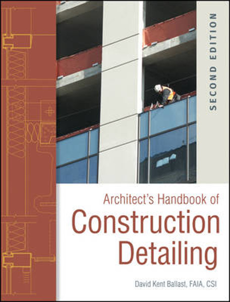Picture of Architect's Handbook of Construction Detailing