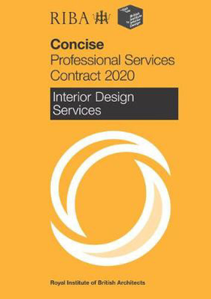 Picture of RIBA/BIID Concise Professional Services Contract 2020 : Interior Design Services