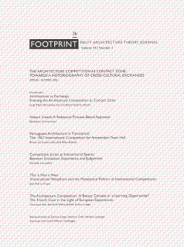 Picture of Footprint 26 - The Architectural Competition As A Contact Zone