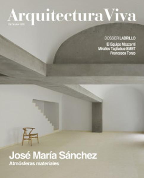 Picture of Arquitectura Viva 228 - Jose Sanchez, Material Atmospheres