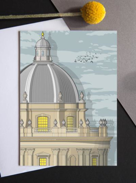 Picture of Linescapes Radcliffe Camera sunrise card
