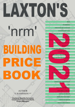 Picture of Laxton's nrm Building Price Book 2021