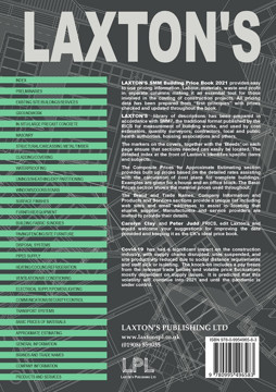 Picture of Laxton's smm Building Price Book 2021