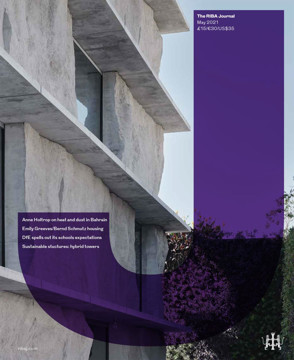 Picture of RIBA Journal: May 2021