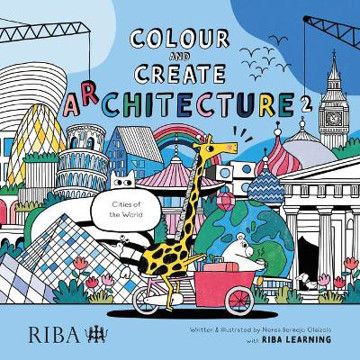 Picture of Colour and Create Architecture 2: Cities of the World