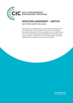 Picture of Novation Agreement Switch: Second Edition 2021