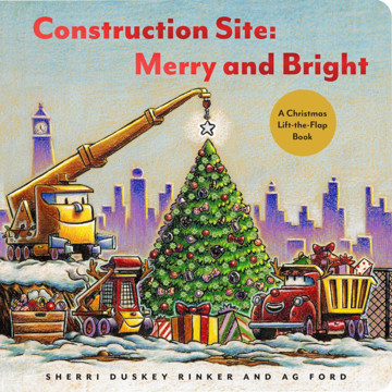 Picture of Construction Site: Merry and Bright: A Christmas Lift-the-Flap Book
