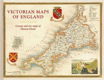 Picture of Victorian Maps of England: The county and city maps of Thomas Moule