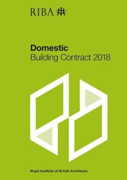 Picture of RIBA Domestic Building Contract 2018