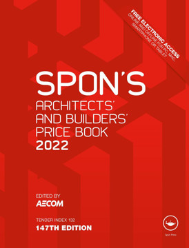 Picture of Spon's Architects' and Builders' Price Book 2022