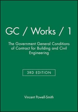 Picture of GC / Works / 1: The Government General Conditions of Contract for Building and Civil Engineering