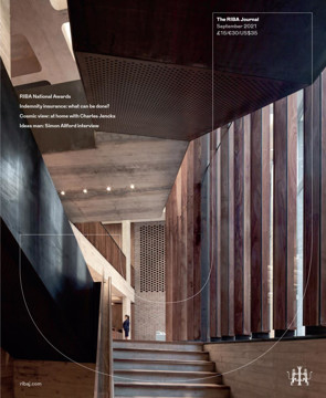 Picture of RIBA Journal: September 2021
