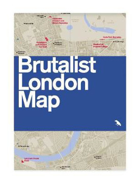 Picture of Brutalist London Map