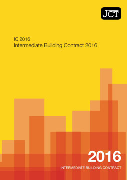 Picture of JCT: Intermediate Building Contract 2016 (IC)