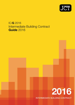 Picture of JCT: Intermediate Building Contract Guide 2016 (IC/G)