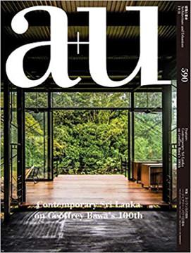 Picture of A+U 19:11 590 Contemporary Sri Lanka on Geoffrey Bawa's 100th