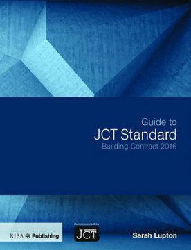 Picture of Guide to JCT Standard Building Contract 2016