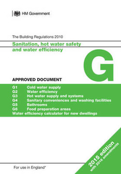 Picture of Approved Document G: Sanitation, hot water safety and water efficiency (2015 edition with 2016 amendments)