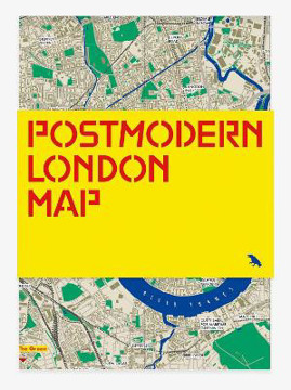 Picture of Postmodern London Map: Guide to postmodernist architecture in London