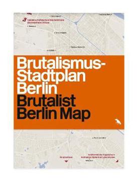 Picture of Brutalist Berlin Map: Brutalismus-stadtplan Berlin
