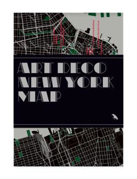 Picture of Art Deco New York Map: Guide to Art Deco architecture in New York City