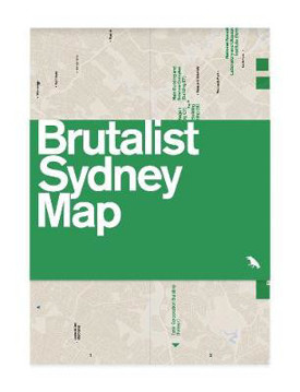 Picture of Brutalist Sydney Map